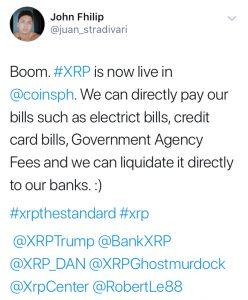 John Fhilip's Tweet