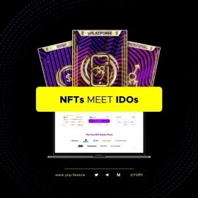 NFTs meet IDOs with YOP